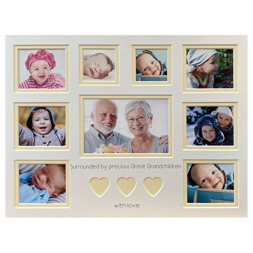 Surrounded by Precious Great Grandchildren Picture Mount