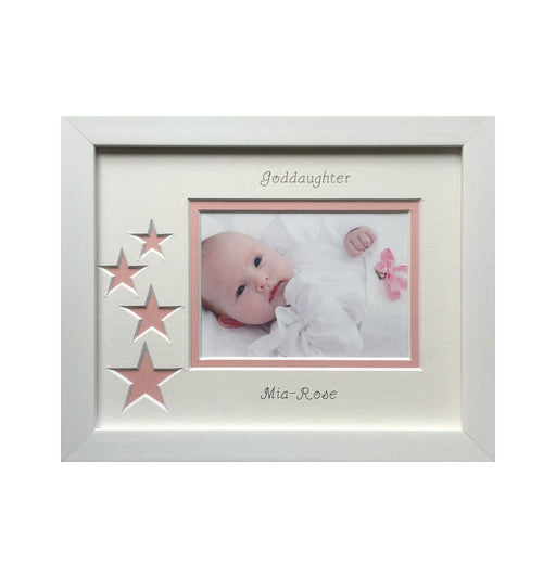 Personalised Goddaughter Photo Frame Landscape