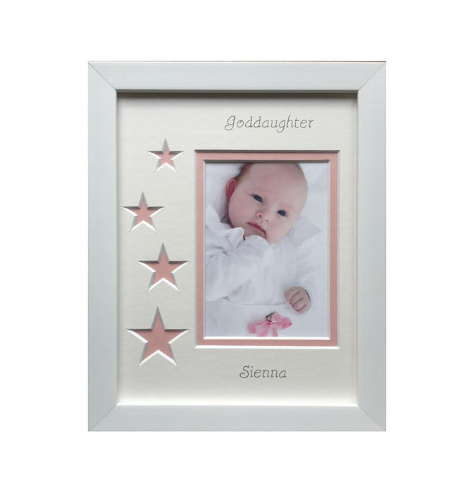 Personalised Goddaughter Photo Frame