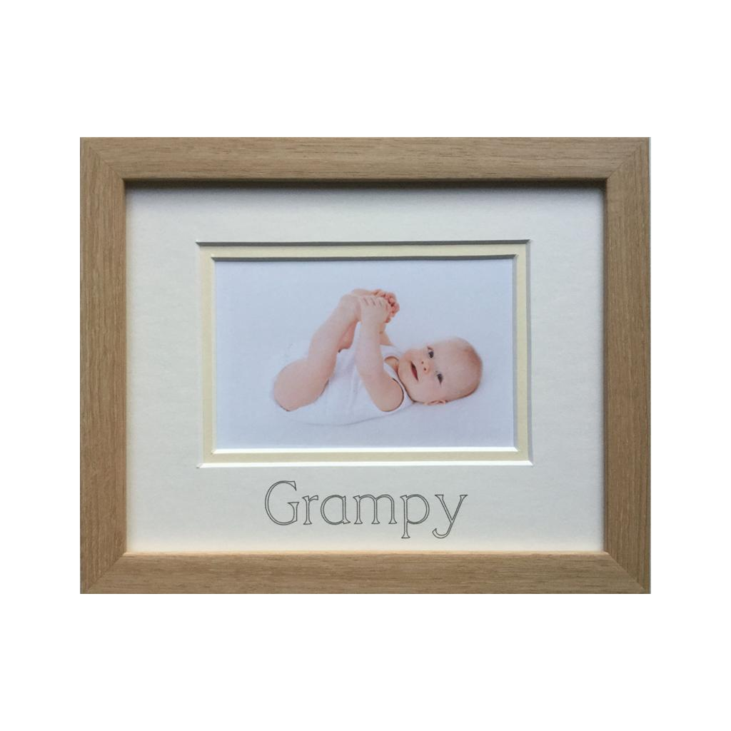 Grampy Picture Frame, Beech
