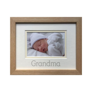 Grandma Picture Frame Beech