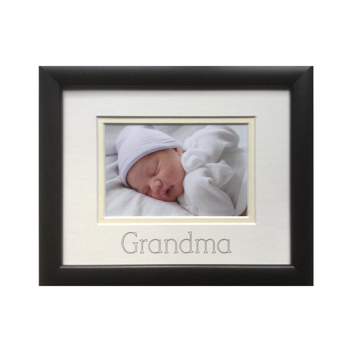Grandma Picture Frame Black