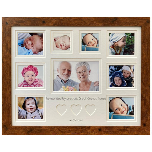 Surrounded by Precious Great Grandchildren Picture Frame