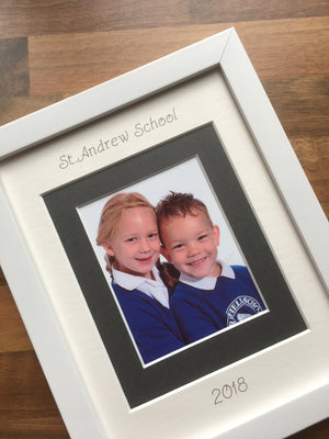 Personalised Primary School Year Photograph Picture Frame