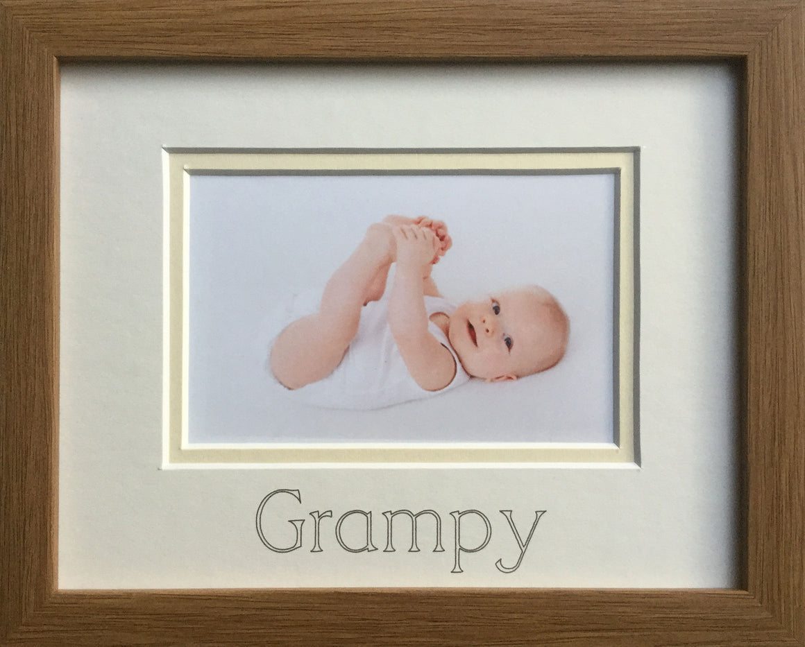 Grampy Picture Frame, Oak
