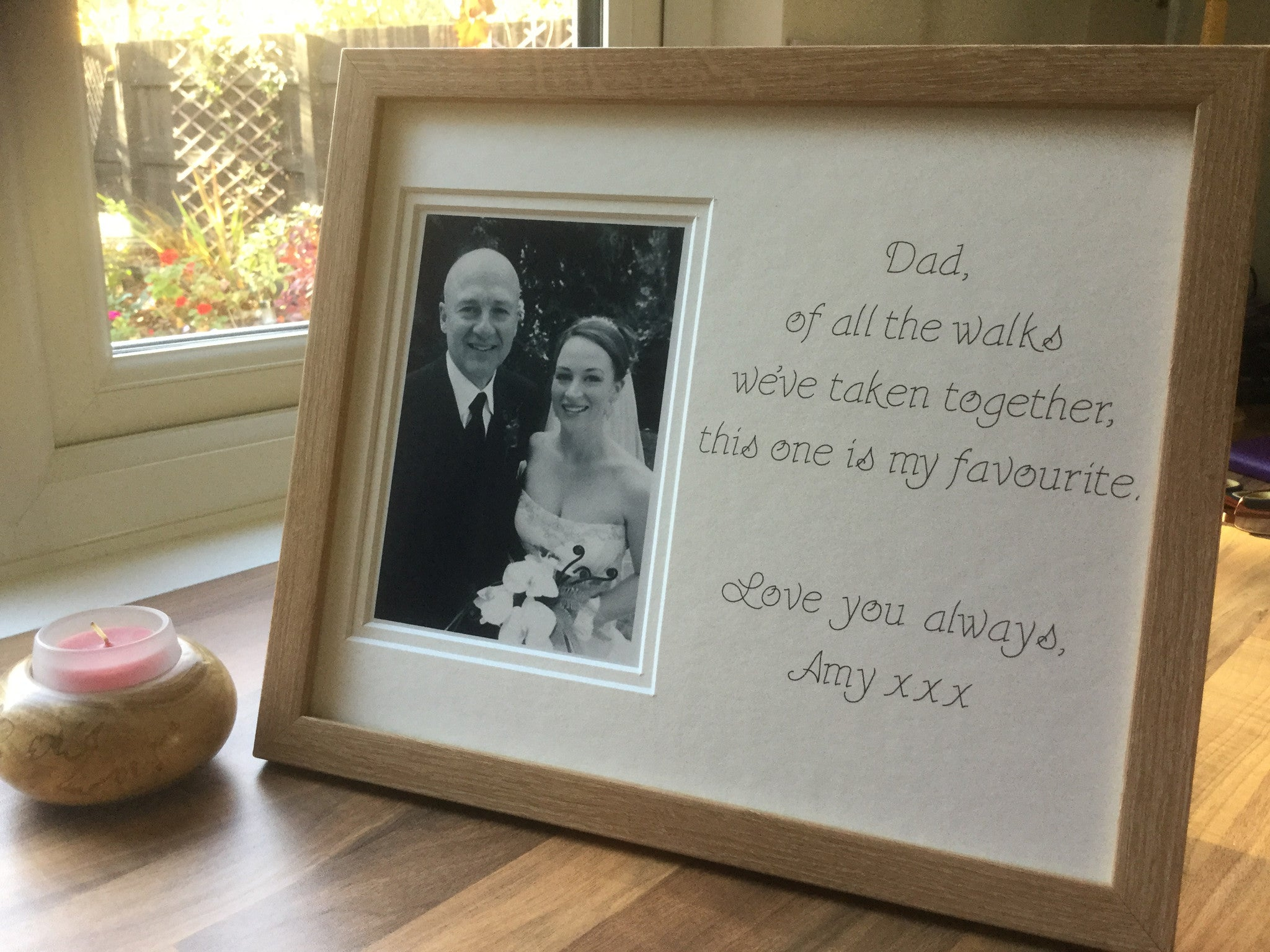 Father Of The Bride Of All The Walks Of Life Photo Frame