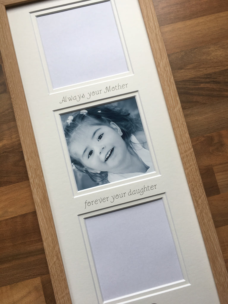 Always Your Mother Forever Your Daughter Collage Picture Frame 20 x 8