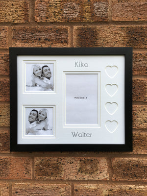 Love Heart Couple Photo Frame