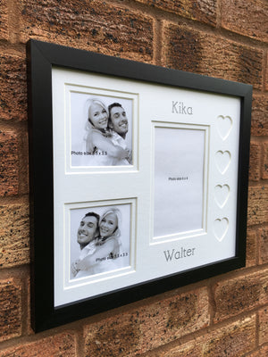 Personalised Love Heart Photo Frame