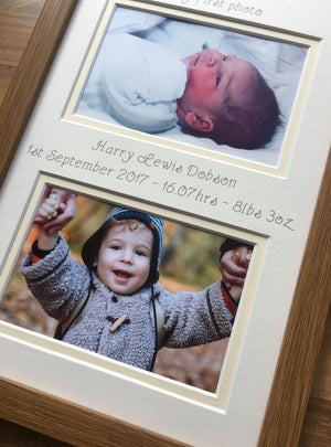 Baby First 1 year Collage Picture Frame