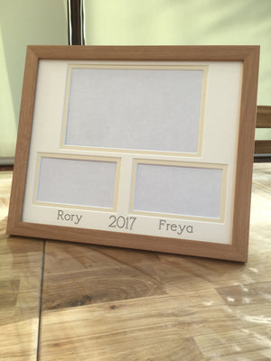 Custom to order Picture Frame 12 x 10 Beech