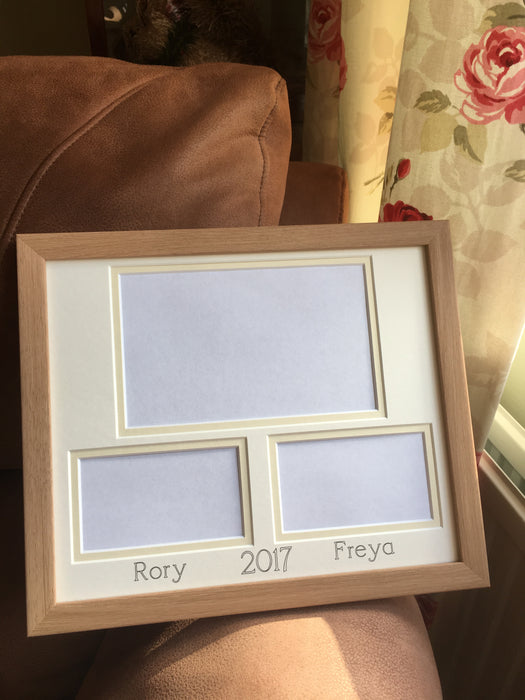Customise Your Own Picture Frame 12 x 10 Beech