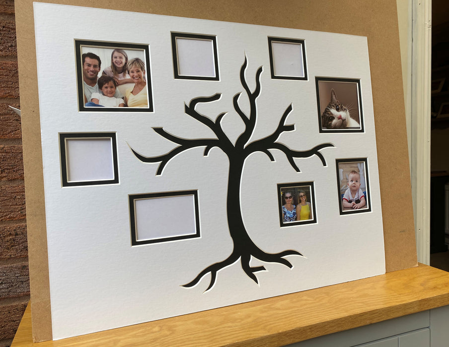 Family Tree Pre-cut Ready Mount