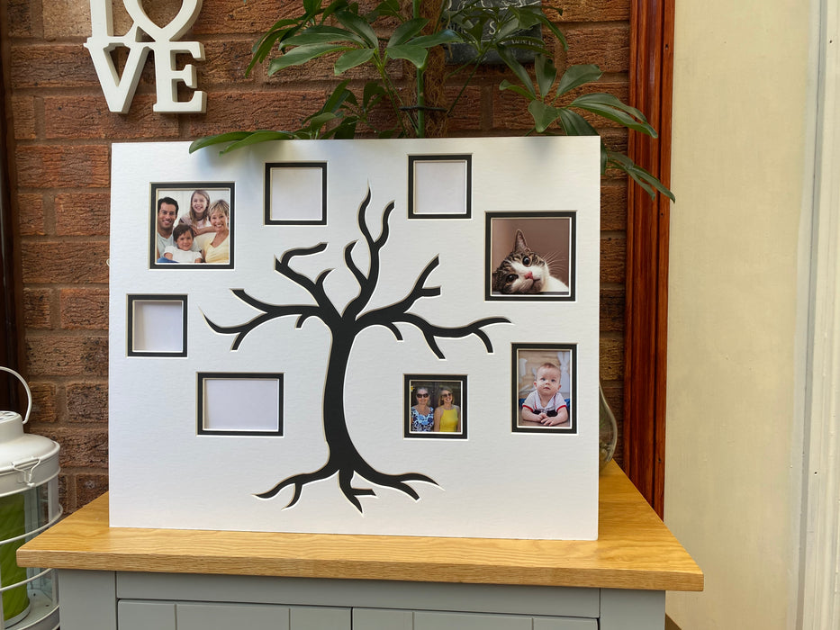 Family Tree Pre-cut Ready Picture Mount