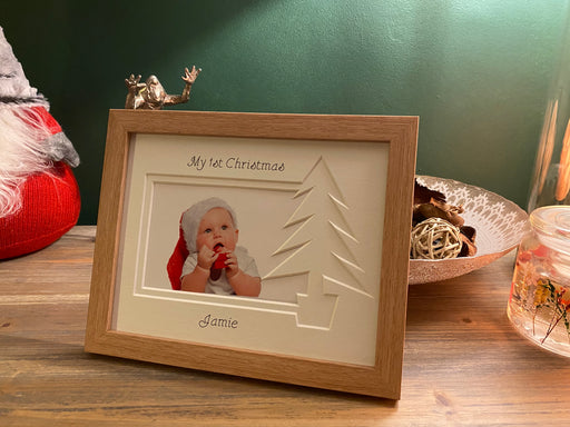Christmas Tree frame - Beech