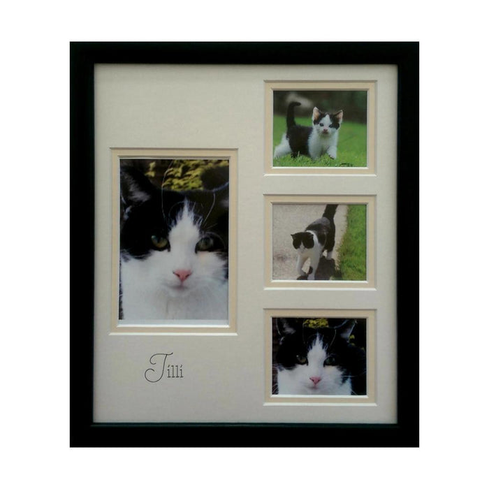 Personalise pet portrait photo frame