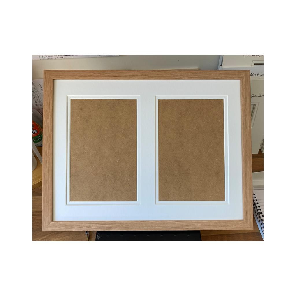 Custom Picture Frame 16 x 12 Classic Beech