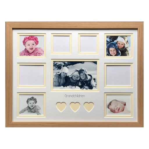 Classic Beech Multi Picture Frame