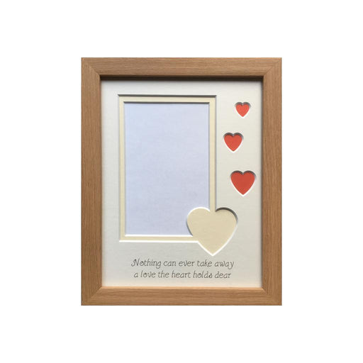 Nothing Can Ever Take Away Picture Frame 9 x 7