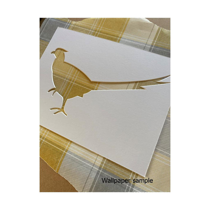 Pheasant Silhouette Craft Project