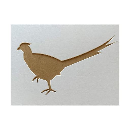 Pheasant Silhouette Picture Mount