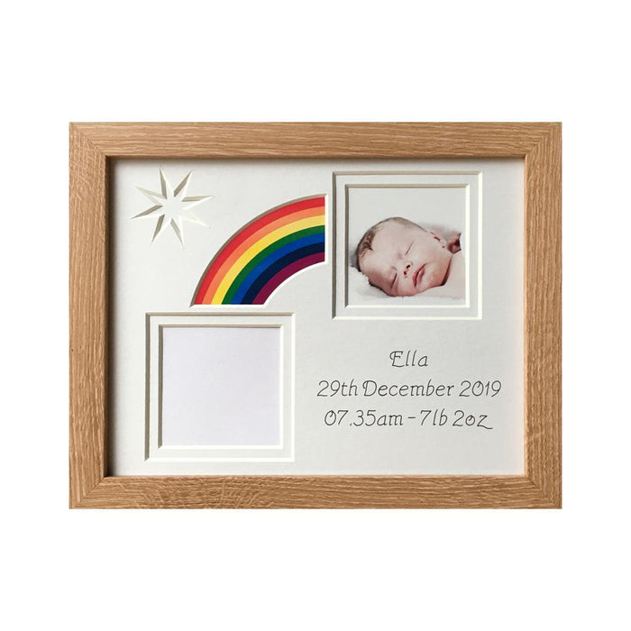 Rainbow Baby Photo Frame