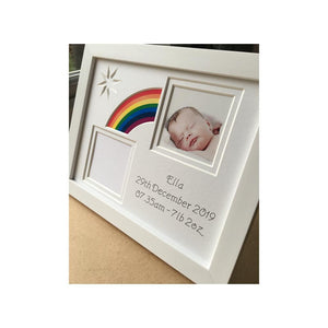 Rainbow Baby Frame Gift