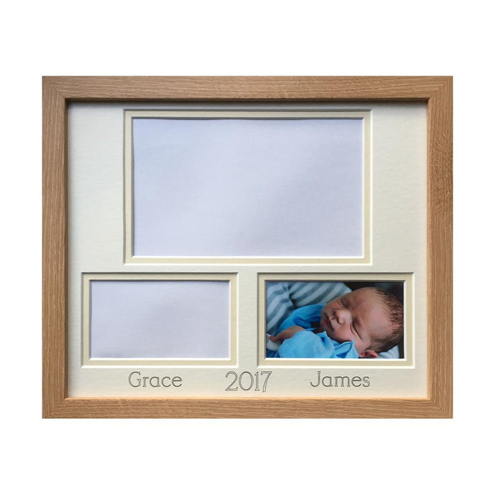 Siblings, Twins, Cousins Picture Frame Beech