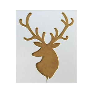 Stag Head Picture Mount 12 x 10