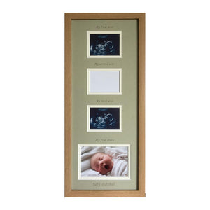 Triple scan vertical frame - Everest beech 20 x 8