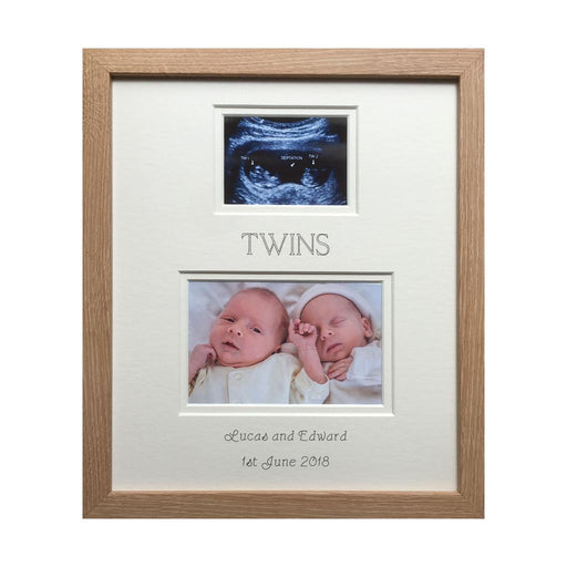 Brothers Twin Photo Frame