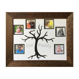 Black tree family frame