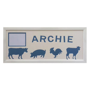 Personalised \farm Animals Picture Frame