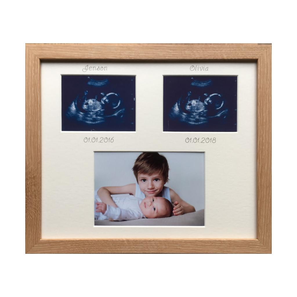 Sibling Brothers Sisters Beech Frame