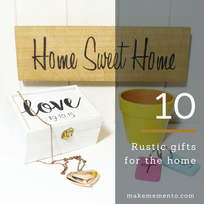 10 rustic gifts for the home