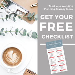 Download Your Free Wedding Checklist I Make Memento