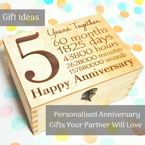 Personalised Anniversary Gift Ideas Your Partner Will Love I Blog I Make Memento