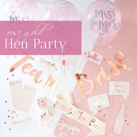 Rose Gold Hen Party Inspiration I Blog I Make Memento
