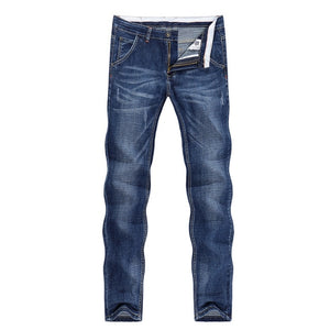 KSTUN Jeans Men Summer 2021 Thin Blue Slim Straight Denim Pants Casual Fashion Men's Trousers Full Length Cowboys Man Homme Jean