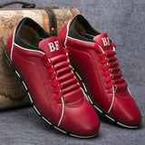 YEELOCA Spring Casual Shoes Fashion Leather Shoes for Men Summer Men's Flat Shoes Sneakers Men Dropshipping Plus Size 38-48
