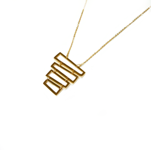 Necklace W/ Squares