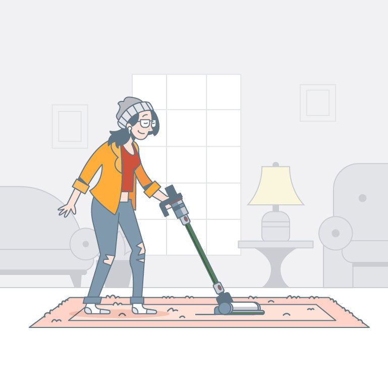 How to clean area rugs, a DIY guide