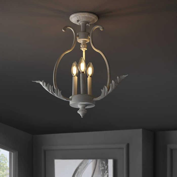 shabby chic tole ceiling lights