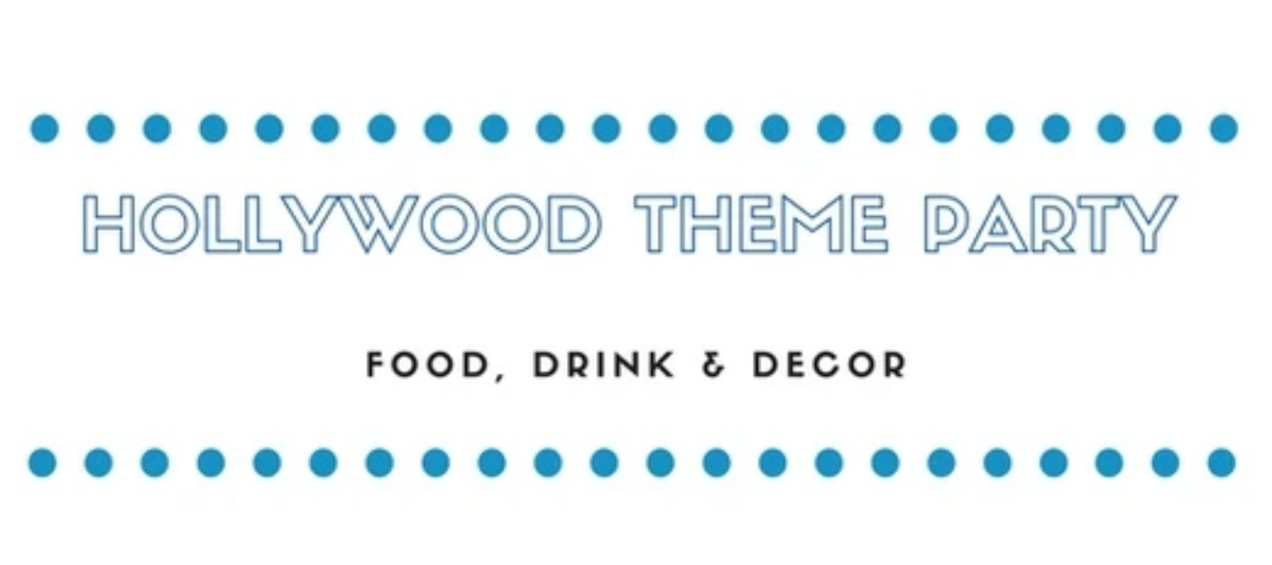 Hollywood Theme Party Sign by Myntz! Breathmints