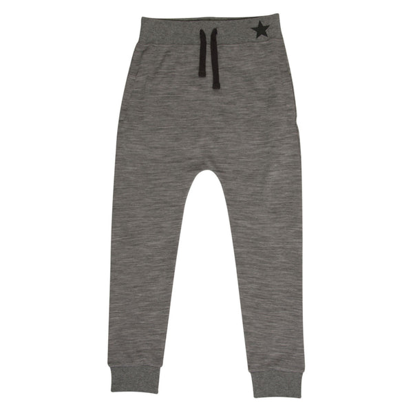 Sweatpants i uld/bambus