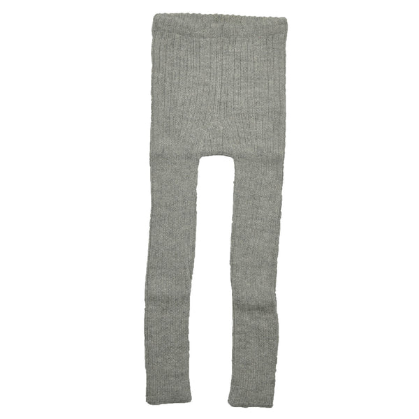 Grå rib leggings
