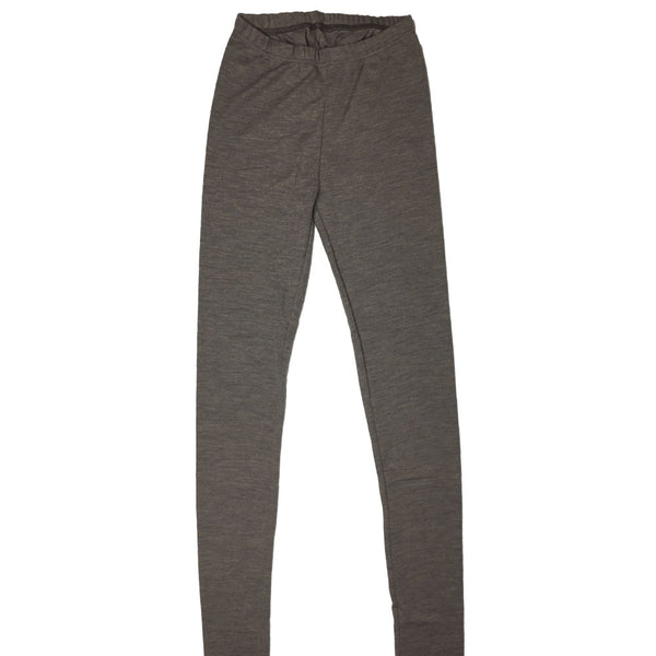 Leggings i uld/silke