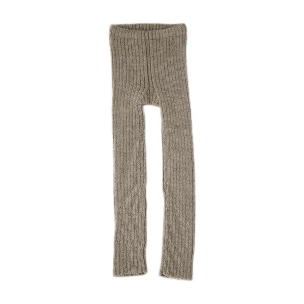 Rib leggings i alpacauld