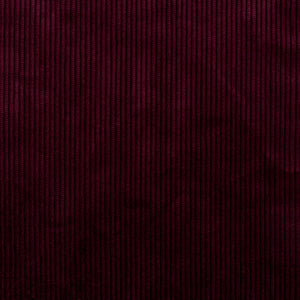 Burgundy Cotton Corduroy
