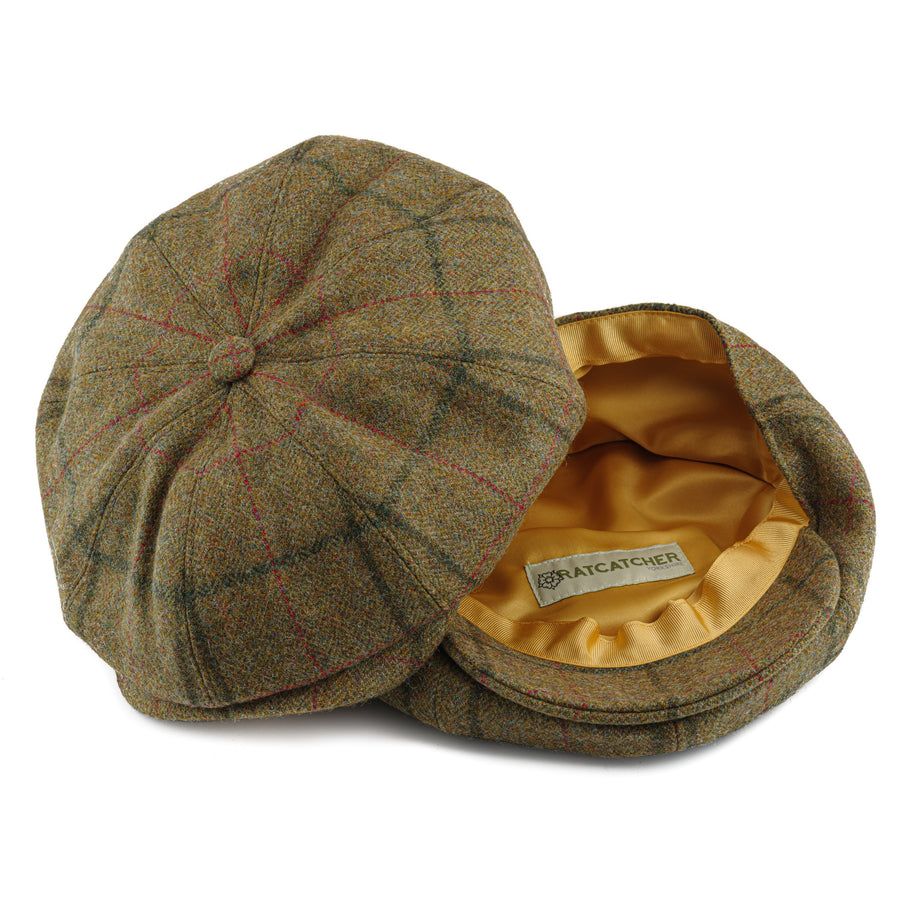 Baker Boy Cap - Coverdale Tweed